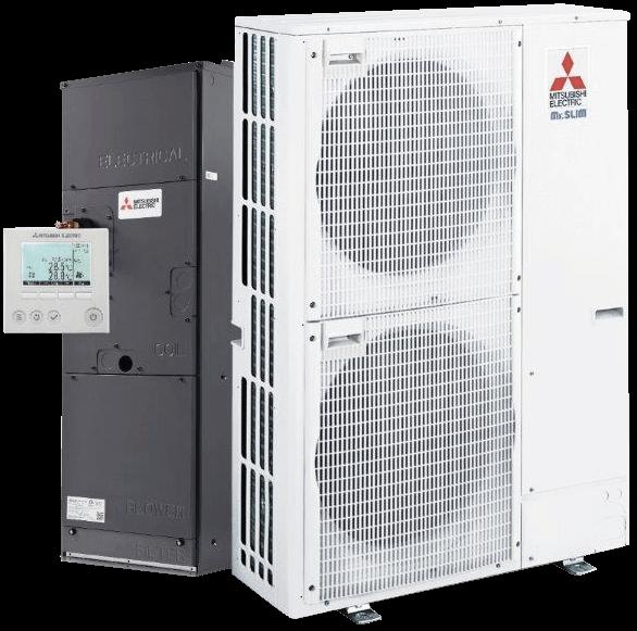 Mitsubishi Zuba heat pump