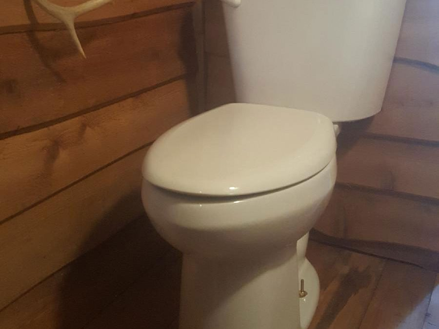American Standard toilet install
