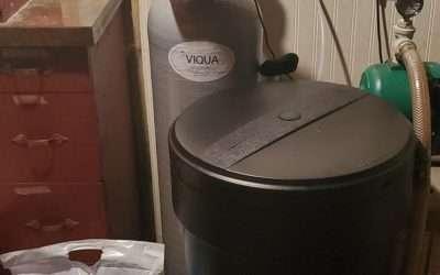 VIQUA sanitizer installation
