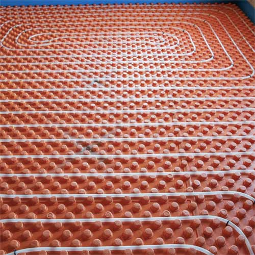 Radian floor heating