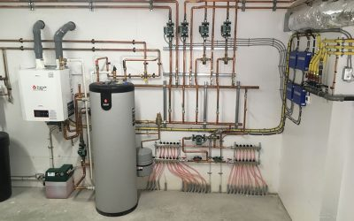 New construction hydronic project