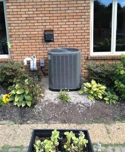 Trane central air conditioner