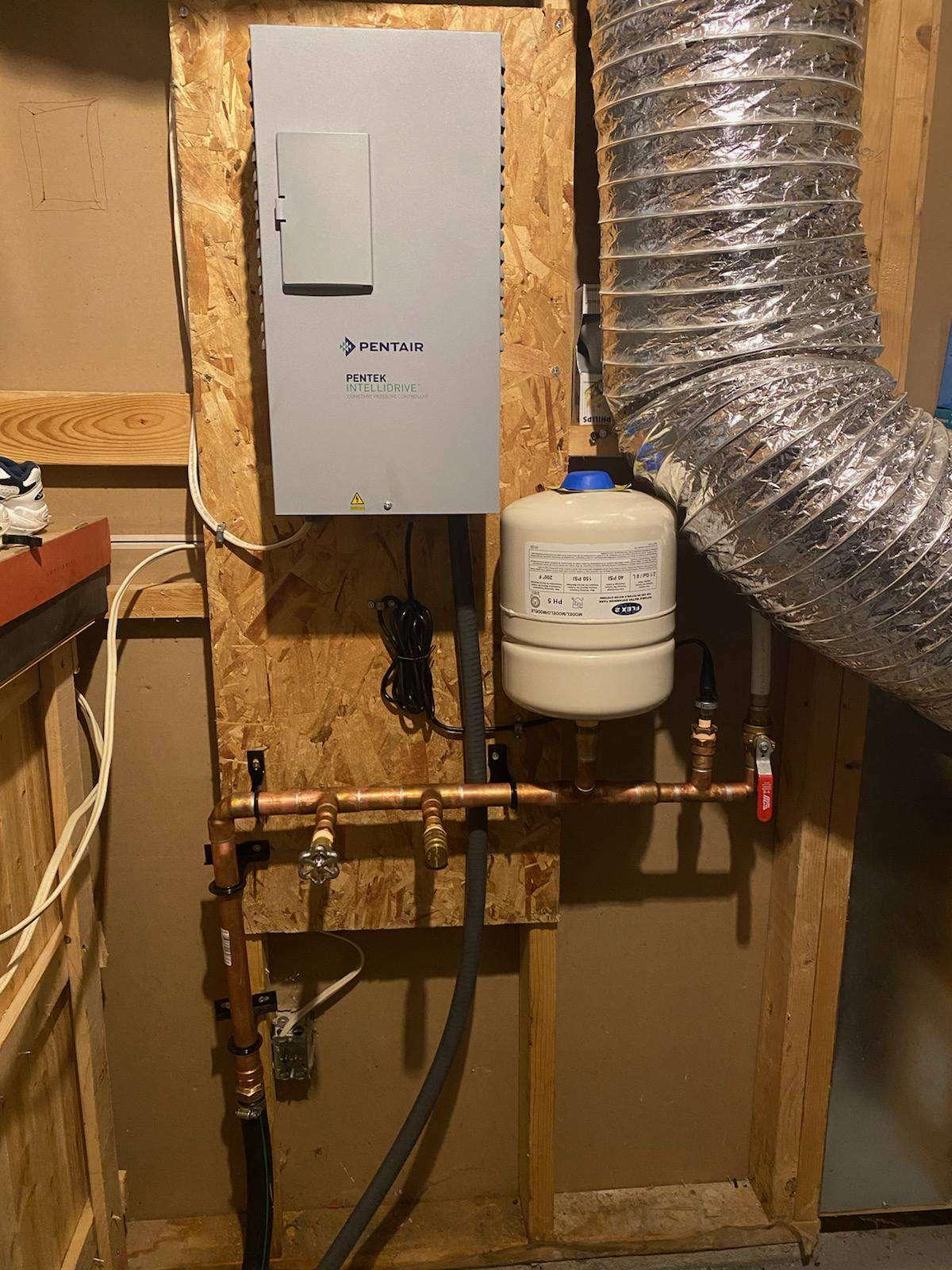 Pentair constant pressure system