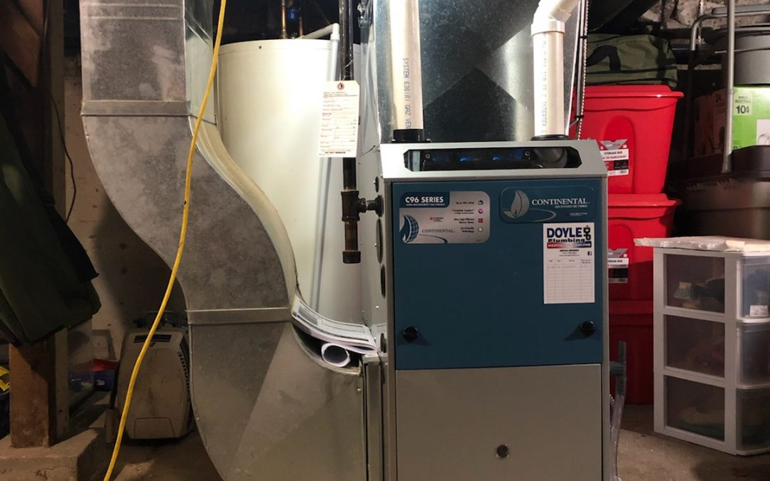 Continental furnace install Peterborough