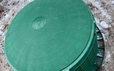Belleville Septic Tank Riser Install