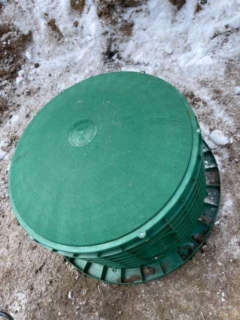 Septic Tank Riser Install