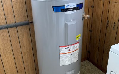 Installing a water heater in Pickering